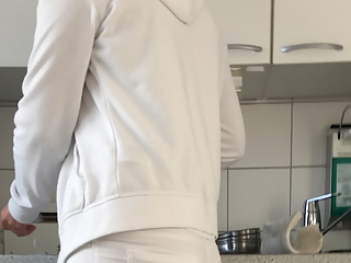 Doctor assistant all white clothes