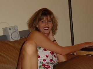 Blonde wife pink panties