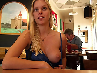 Flashing just one breast