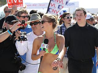 Sexy teen in bikini