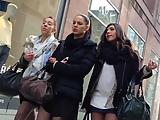 Hot girls in the street