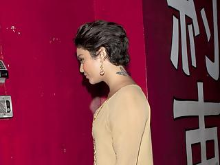 Vanessa Hudgens - Upskirt Candids in Los Angeles