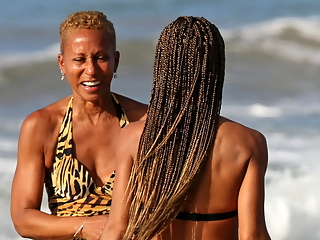 Hottie on the beach