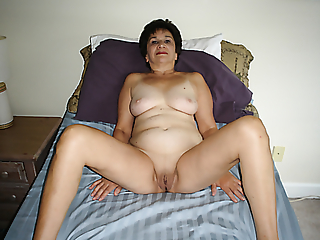 My shaved pussy and 36C tits