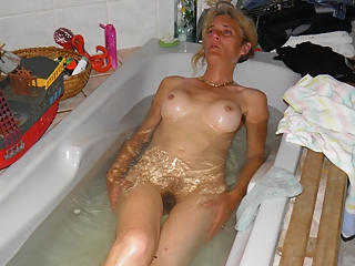 Good mature blonde