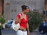 Hottie on the street