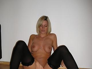 Hot blonde milf great body
