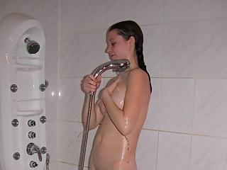 Sister in shower