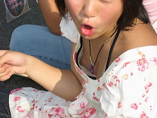 Nipples down blouse catch