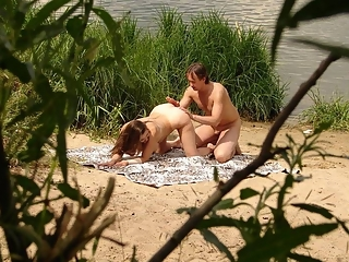 Couple caught fucking