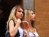 Sexy street babes