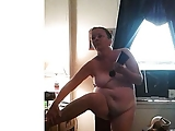 Fat ugly wife dressing