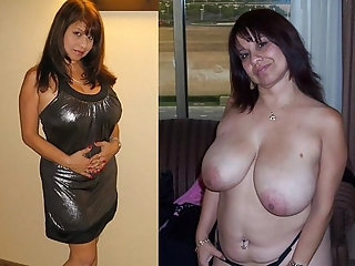 Dress and undressed sluts