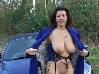 Hot milfs naked outdoors