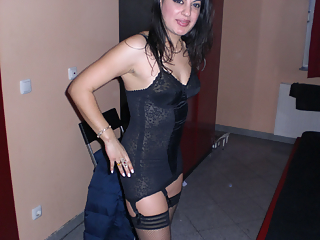 Ex-girlfriend in black stockings