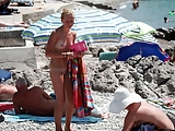 Mom and Daughter Caught on Beach