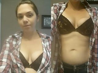 Dressed undressed wife ashley