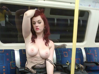 Flashing in trains