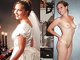 Brides dressed undressed