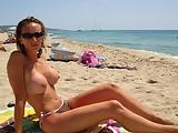 Perfect Beach Huge Tits