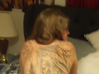 Chubby tattooed girlfriend
