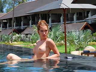 Busty Topless girls