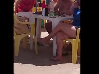 Sexy booty bikini girl