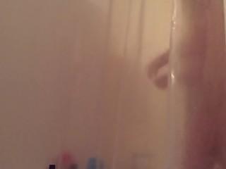 Stepsister in shower