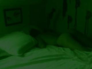 Night vision step sister masturbation