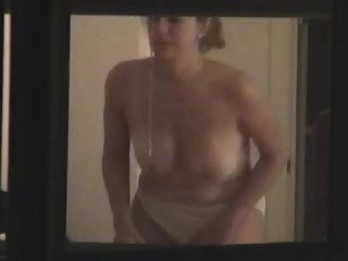 Neighbor with big tits spied