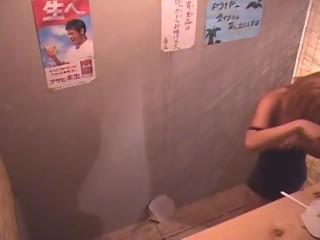 Japanese women in locker room