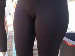 Teen nice camel toe