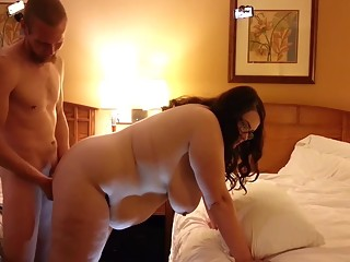 Chubby wife fucked from behind
