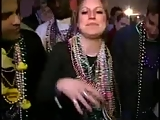 House wife in Mardi Gras