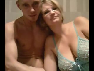 Big tits chubby fucked on webcam