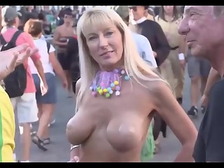Painted tits and bodies