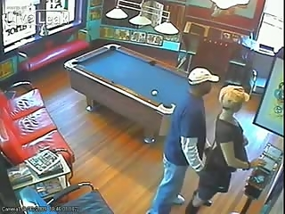 Couple caught by surveillance camera fucking