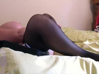 Huge tits housemate masturbation