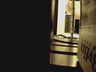 Hidden camera in bathroom