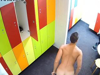 Mixed locker room
