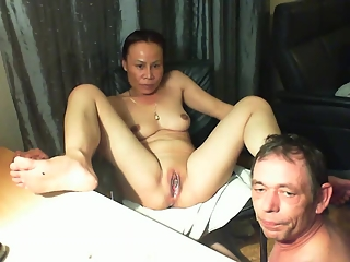 Thailand couple oral sex on webcam