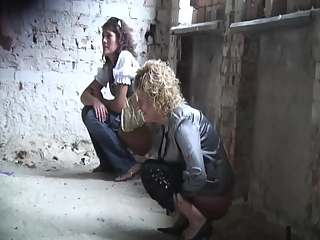 Women spied in old abandoned house peeing