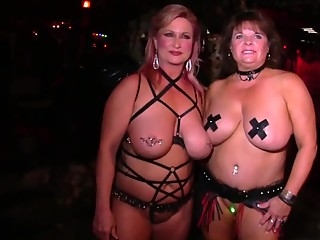 Busty gals showing all